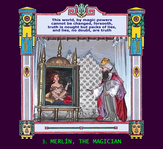 Merlin, The Magician